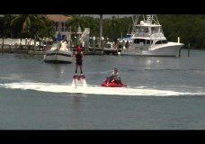 Water Jet Pack at Fort Myers Beach, Florida