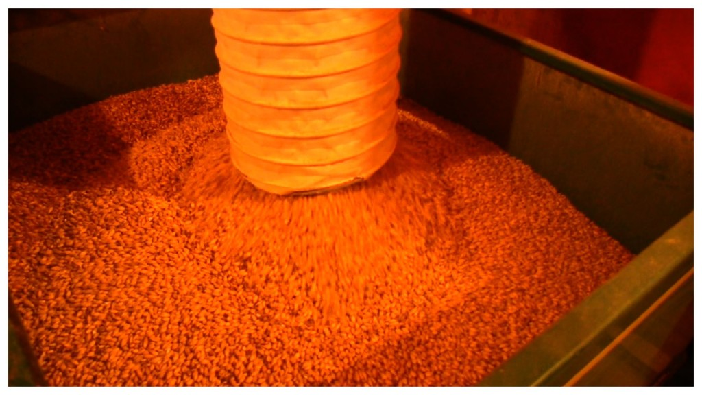 Milling the grain