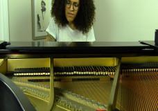 Alexa playing piano