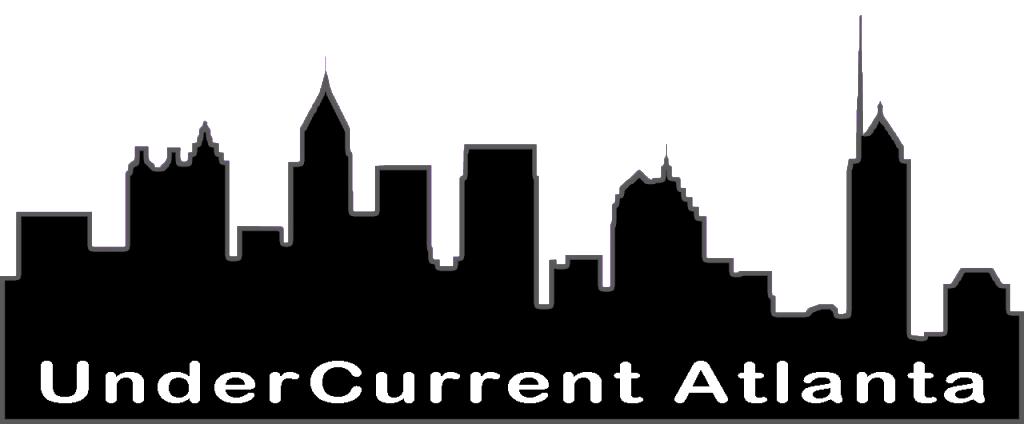 atlanta skyline silhouette banner